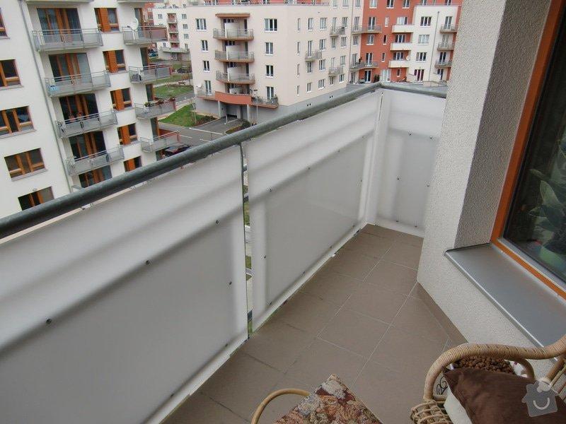 Zábrany na balkón: vyhled_do_ulice