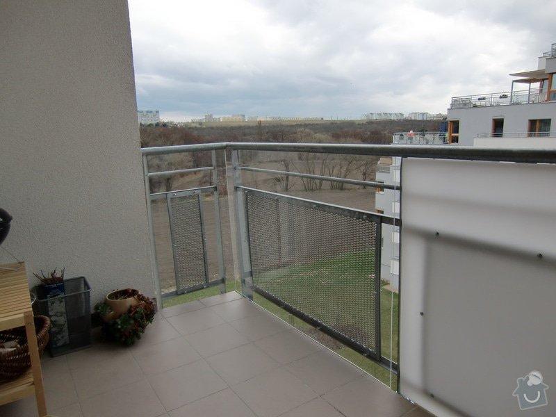 Zábrany na balkón: vyhled_k_jezu