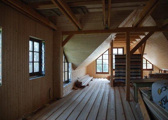 Střecha, tesařské práce