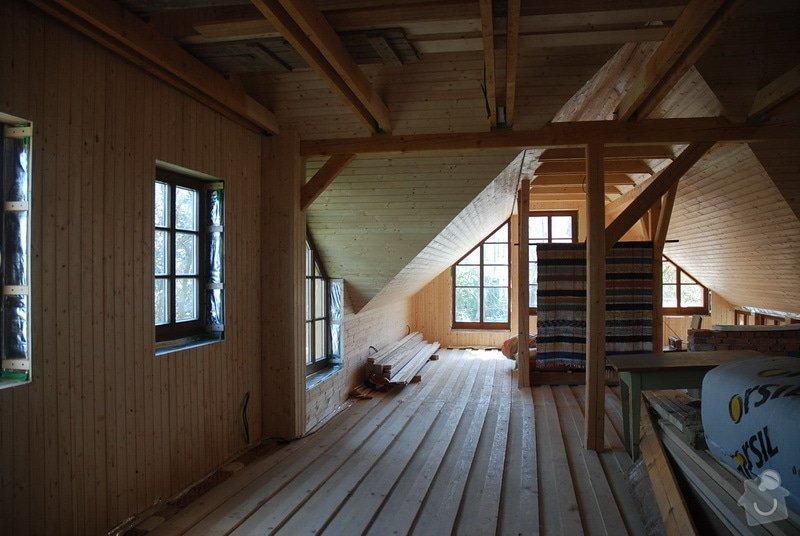 Střecha, tesařské práce: DSC_0032