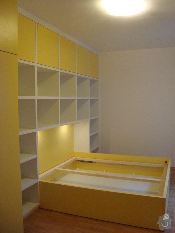 Ložnice / vestavěná skříň na míru: DSC08464
