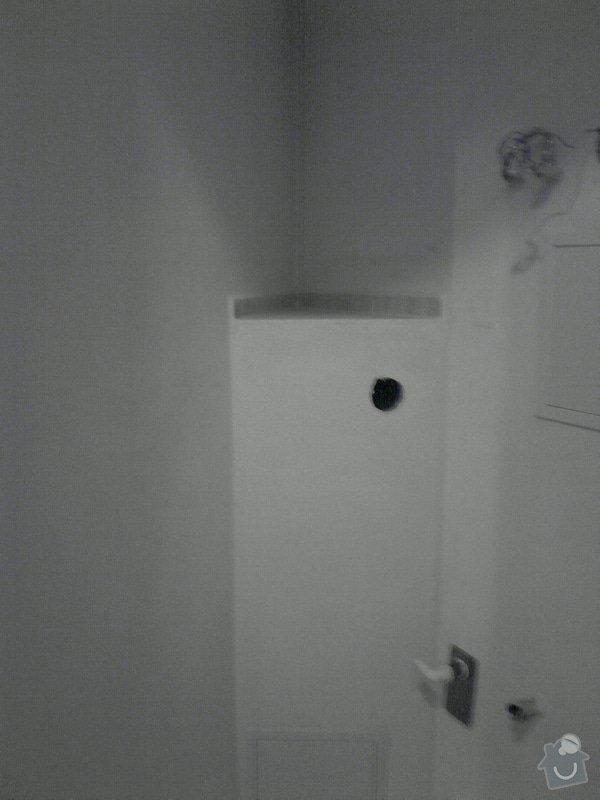 Obkladačské, sádrokartonářské a škutatérské práce (koupelna, komora): P121110_21.05__04_