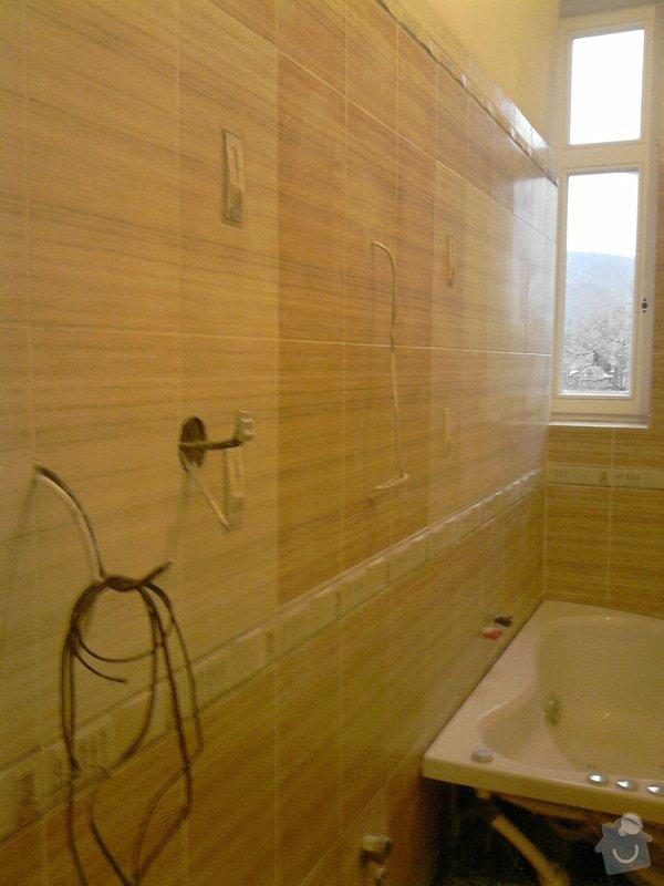 Obkladačské, sádrokartonářské a škutatérské práce (koupelna, komora): P061110_15.31__01_