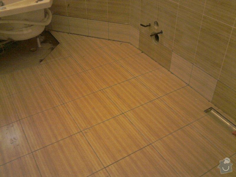 Obkladačské, sádrokartonářské a škutatérské práce (koupelna, komora): P061110_15.31__02_