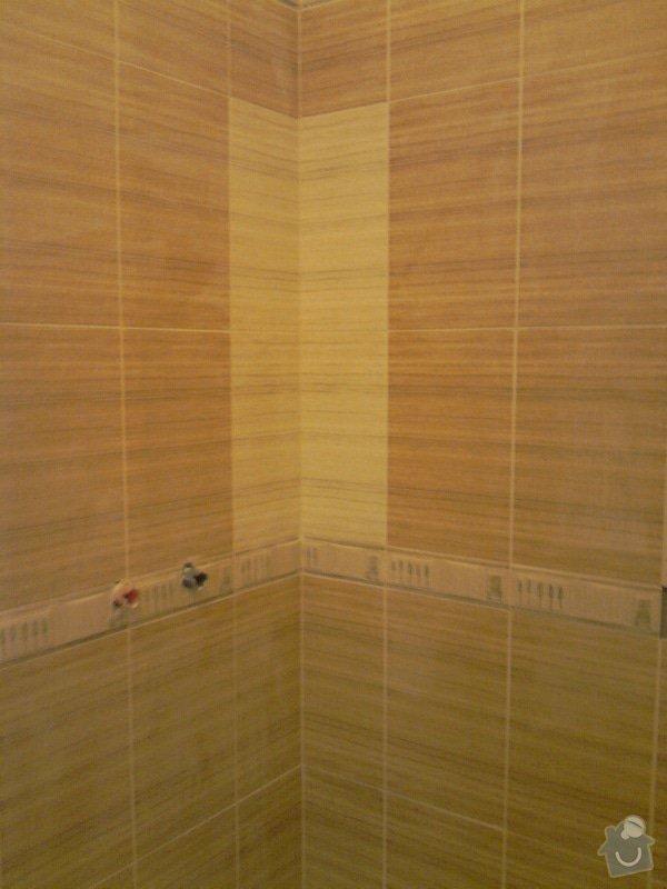Obkladačské, sádrokartonářské a škutatérské práce (koupelna, komora): P061110_15.31__03_