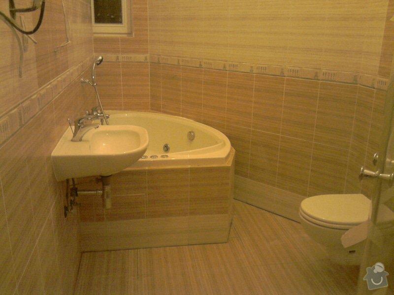 Obkladačské, sádrokartonářské a škutatérské práce (koupelna, komora): P121110_21.04