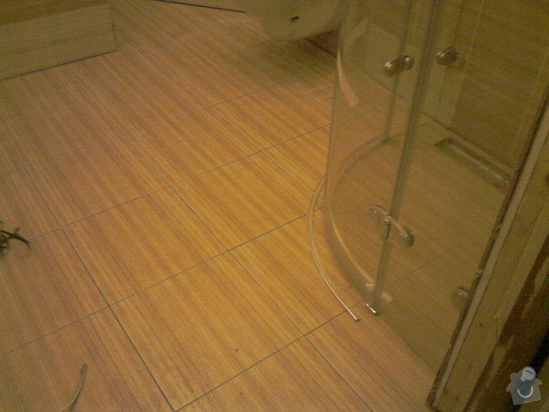 Obkladačské, sádrokartonářské a škutatérské práce (koupelna, komora): P121110_21.04__01_