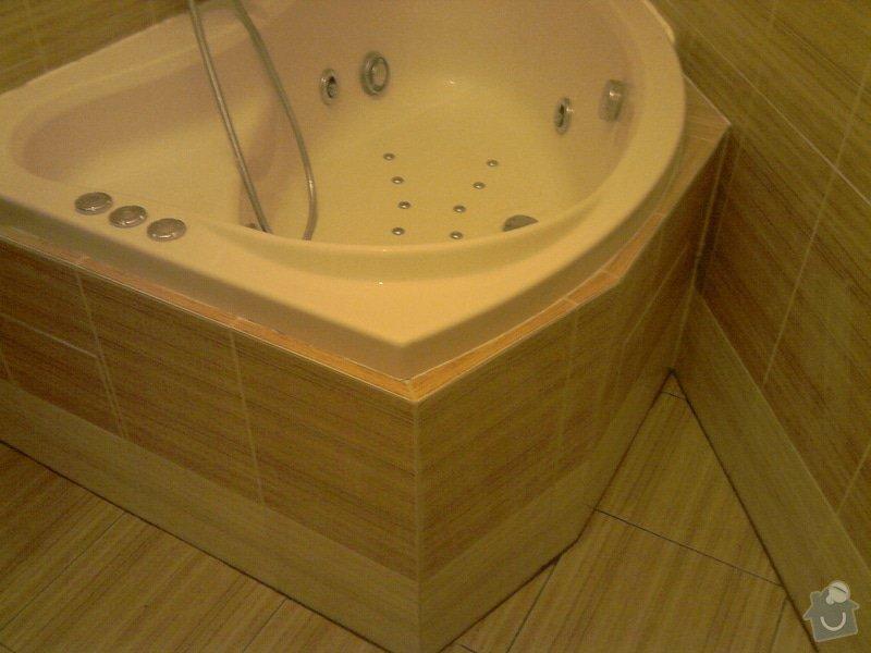 Obkladačské, sádrokartonářské a škutatérské práce (koupelna, komora): P121110_21.04__02_