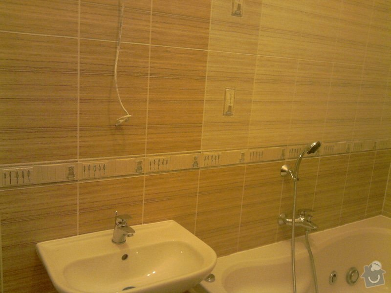 Obkladačské, sádrokartonářské a škutatérské práce (koupelna, komora): P121110_21.04__04_