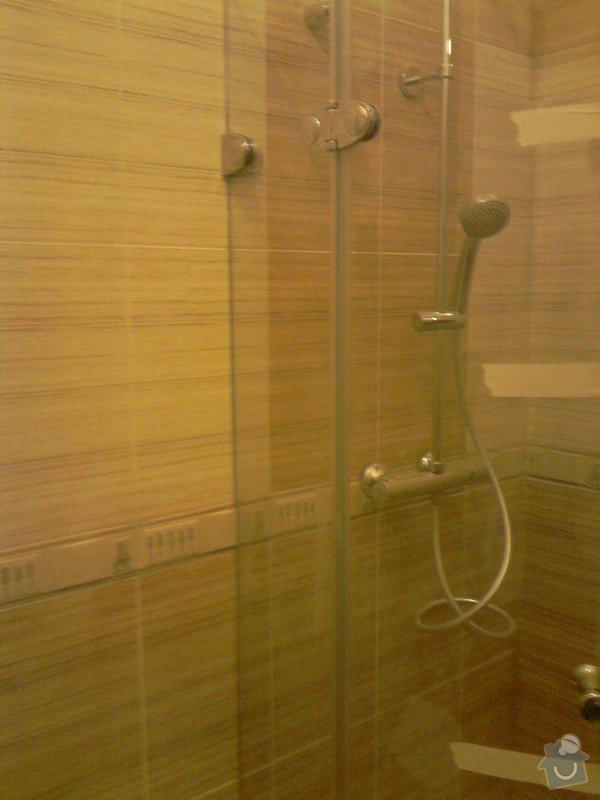 Obkladačské, sádrokartonářské a škutatérské práce (koupelna, komora): P121110_21.04__05_
