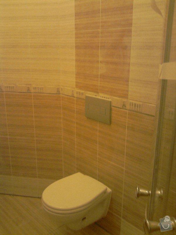 Obkladačské, sádrokartonářské a škutatérské práce (koupelna, komora): P121110_21.05__02_