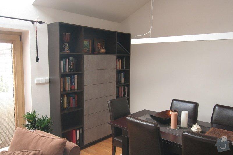Nabytek do obyvaku - stena a knihovna: IMG_4556