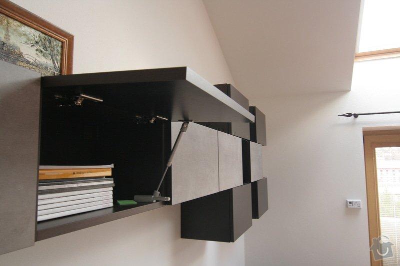 Nabytek do obyvaku - stena a knihovna: IMG_4561