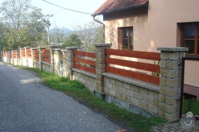 Stavba plotu z crash blocků: plot_8