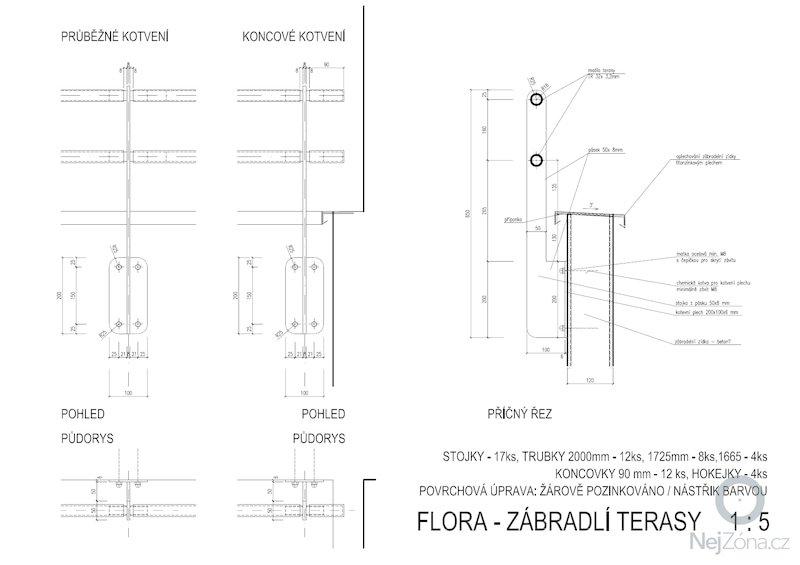 Výroba zábradlí: zabr1