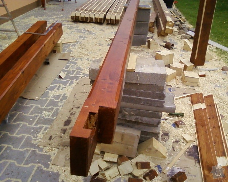 Oprava špatně zkonstruovaného garážového stání: Fotografie-0016