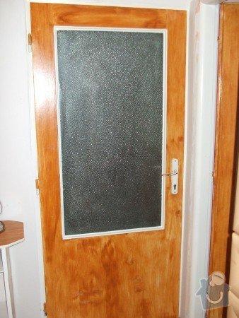 Renovace panelákových dveří, minibar - kuchyňský kout ze zbytků starých skříní: renovace_star_ch_panel_kov_ch_dve_