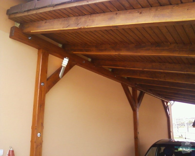 Oprava špatně zkonstruovaného garážového stání: Fotografie-0034