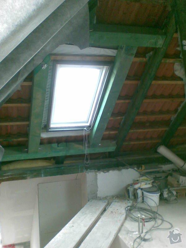 Rekonstrukce bytu - půdní vestavba: 11052010_005_