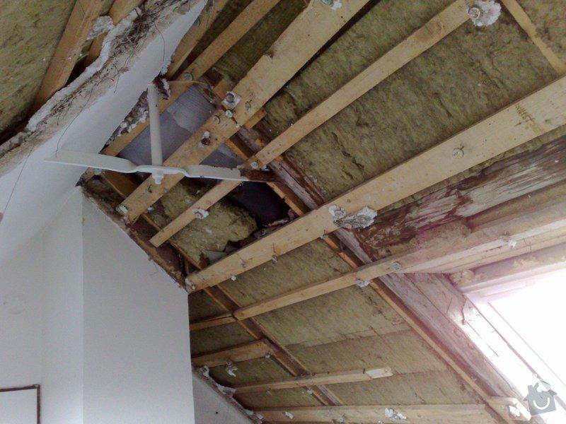 Rekonstrukce bytu - půdní vestavba: 030220103646