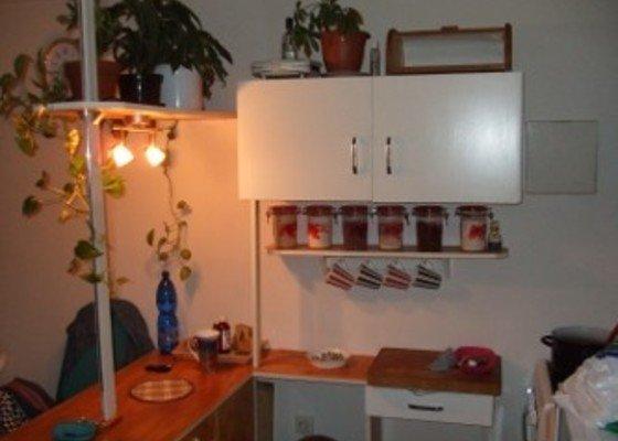 Renovace panelákových dveří, minibar - kuchyňský kout ze zbytků starých skříní