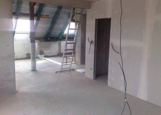 Rekonstrukce bytu - půdní vestavba