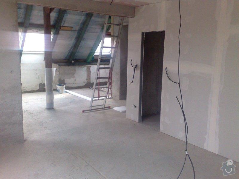 Rekonstrukce bytu - půdní vestavba: 210420102765