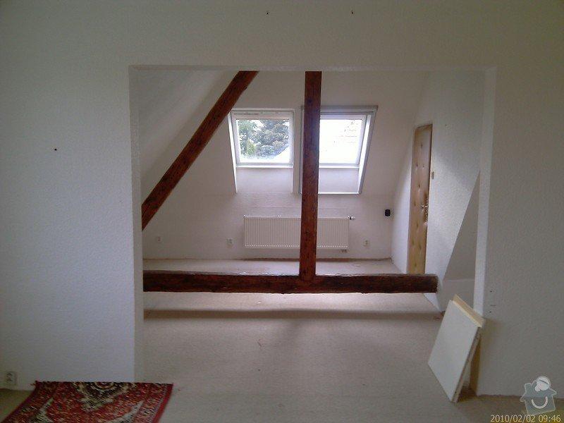Rekonstrukce bytu - půdní vestavba: IMAG0049