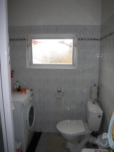 Rekonstrukce bytu - půdní vestavba: Koupelna_okno