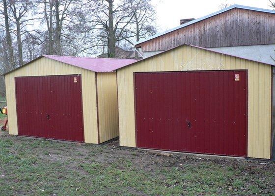 2 ks garáže
