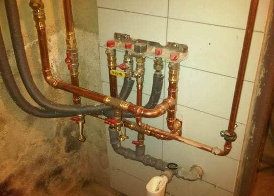 Rekonstrukce topení a plynového kotle