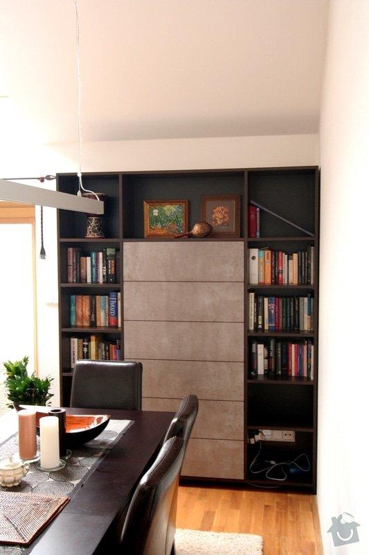 Nabytek do obyvaku - stena a knihovna: IMG_4554