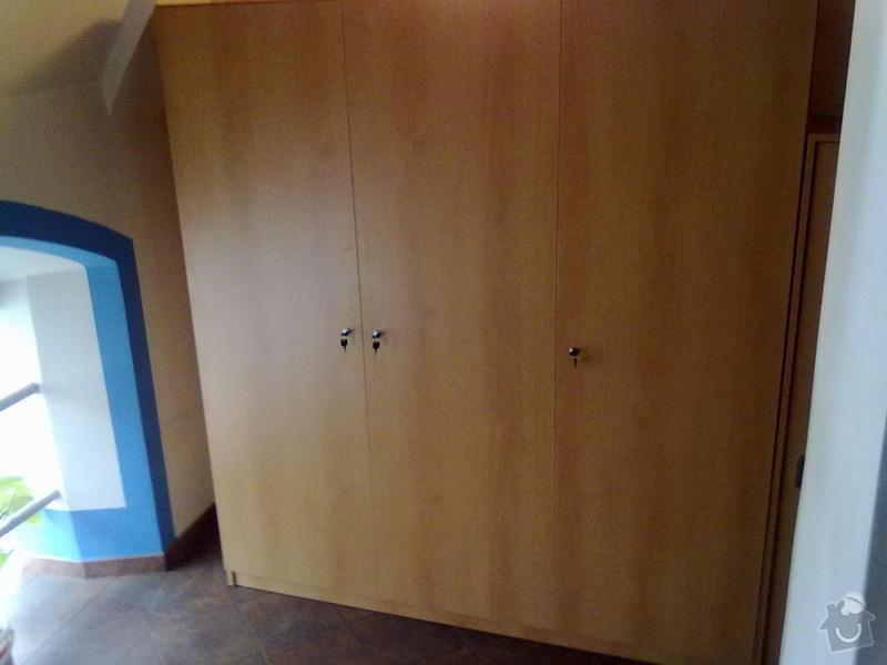 Vestavěná skříň, skříně na schody: 19112010045
