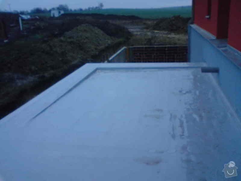Hydroizolace garáže: DSC00378
