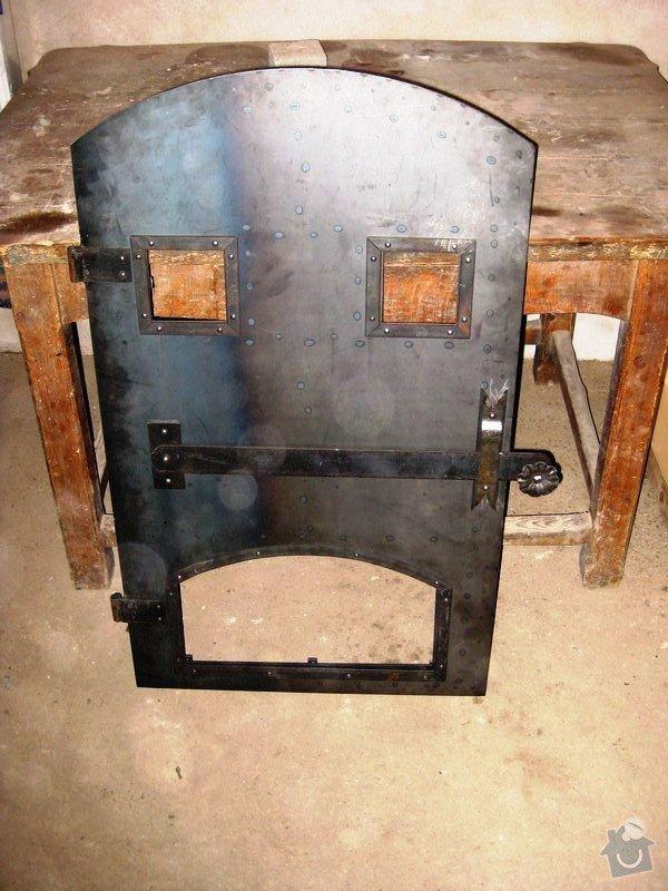 Kované a zámečnické práce/kované doplňky a předměty: chlebova-pec