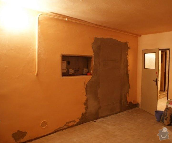 Omítání stěn, natažení perlinkou a drobné zednické práce: Schr_nka03