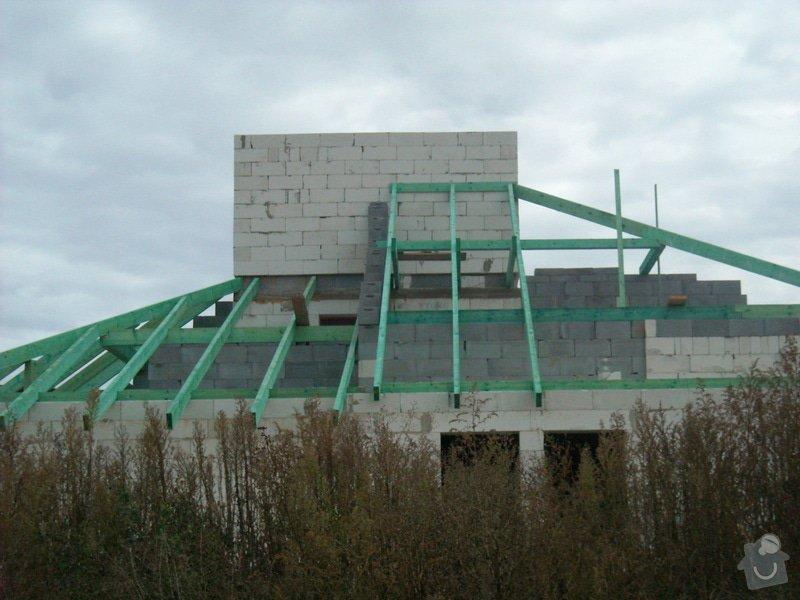 Dokončení hrubé stavby RD: sn_mek_069