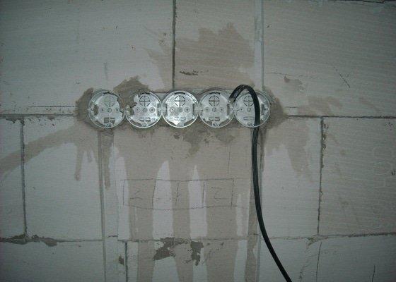 Hrubá elektroinstalace - novostavba RD