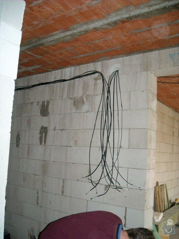 Hrubá elektroinstalace - novostavba RD: sn_mek_018