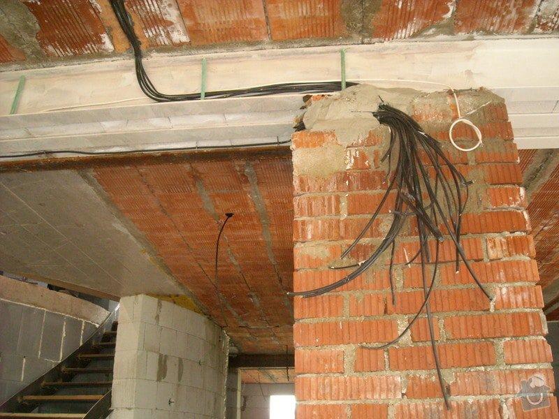 Hrubá elektroinstalace - novostavba RD: sn_mek_025