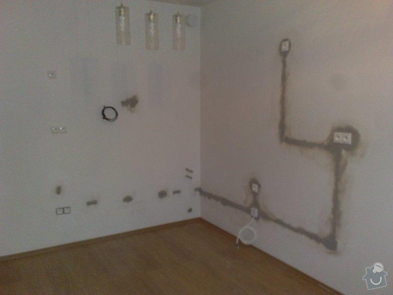 Elektroinstalace pro novou kuchyň.: 26102011965