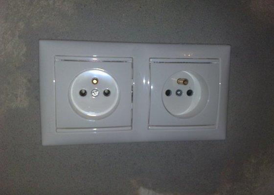 Elektroinstalace pro novou kuchyň.