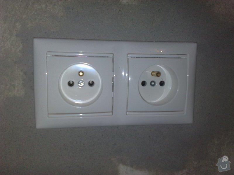 Elektroinstalace pro novou kuchyň.: 26102011967