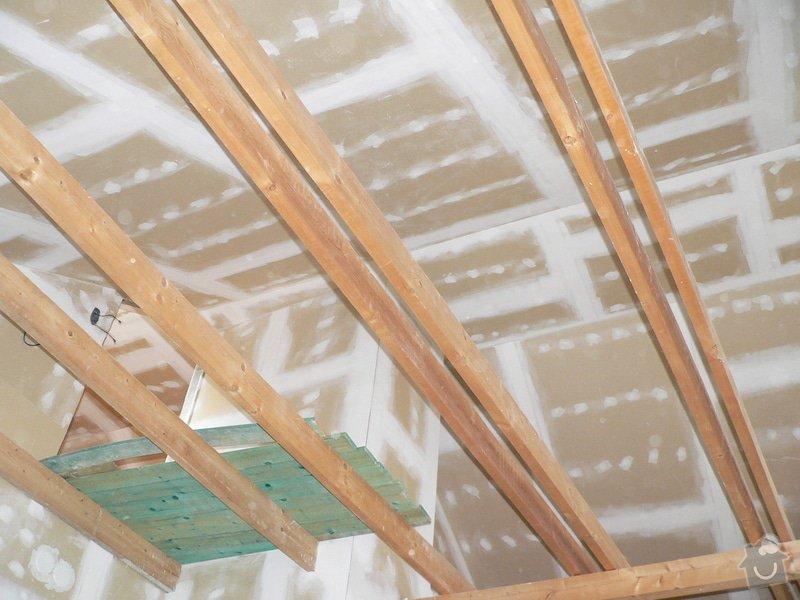 Opláštění a zateplení podkroví: P1070802