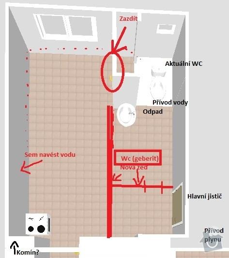 Rekonstrukce bytu na klíč: nakres2011-10-17var