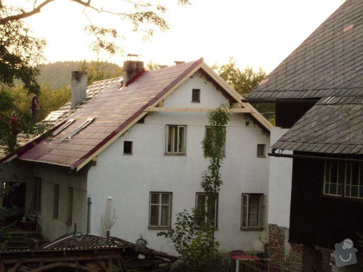 Revize třech komínů na jedné chalupě v Loučkách u Turnova u: nova_strecha