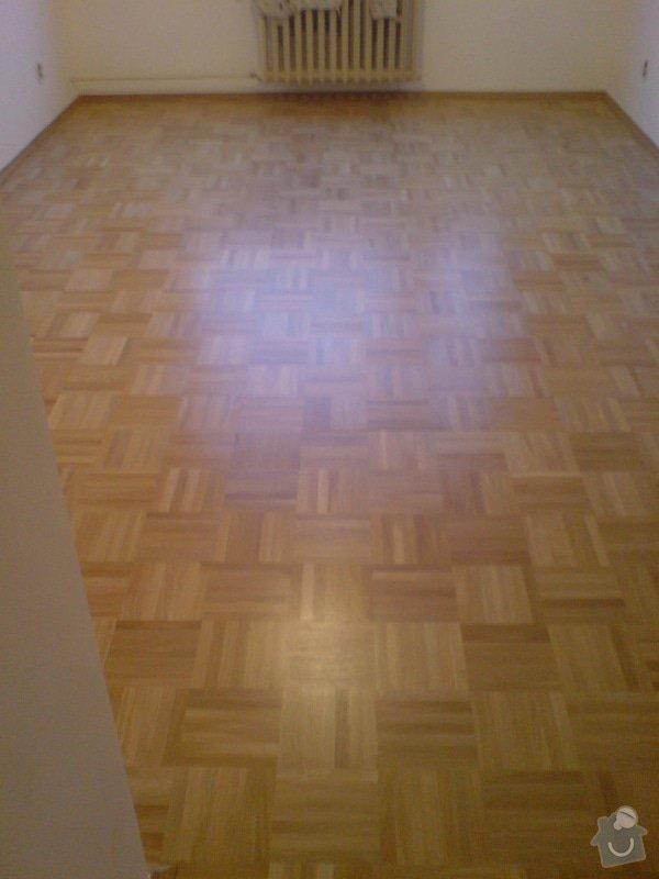 Renovace staré + položení nové dřevěné podlahy: DSC02199