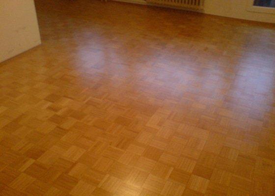Renovace staré + položení nové dřevěné podlahy