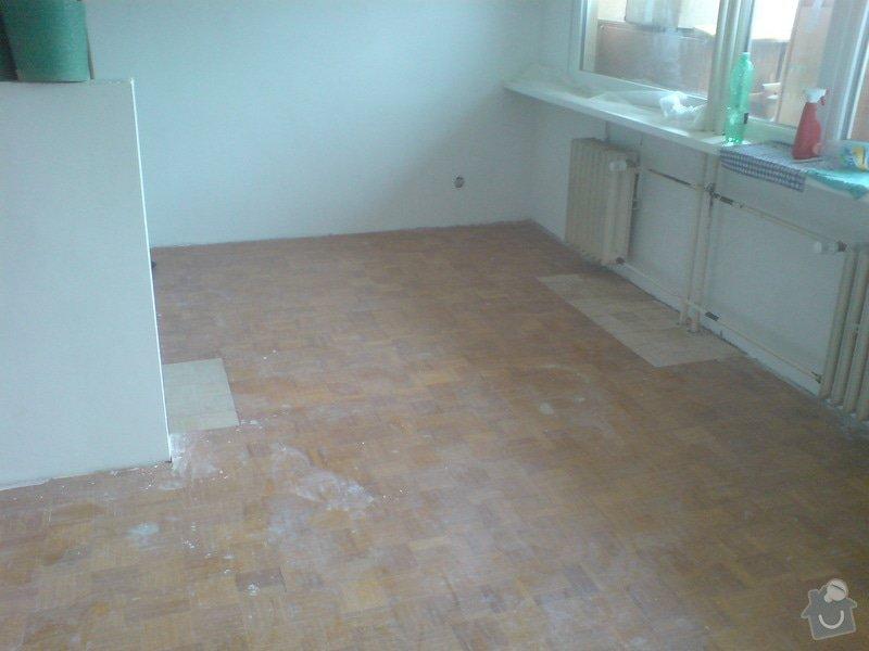 Renovace staré + položení nové dřevěné podlahy: DSC02184