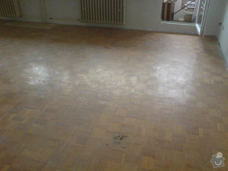 Renovace staré + položení nové dřevěné podlahy: DSC02183